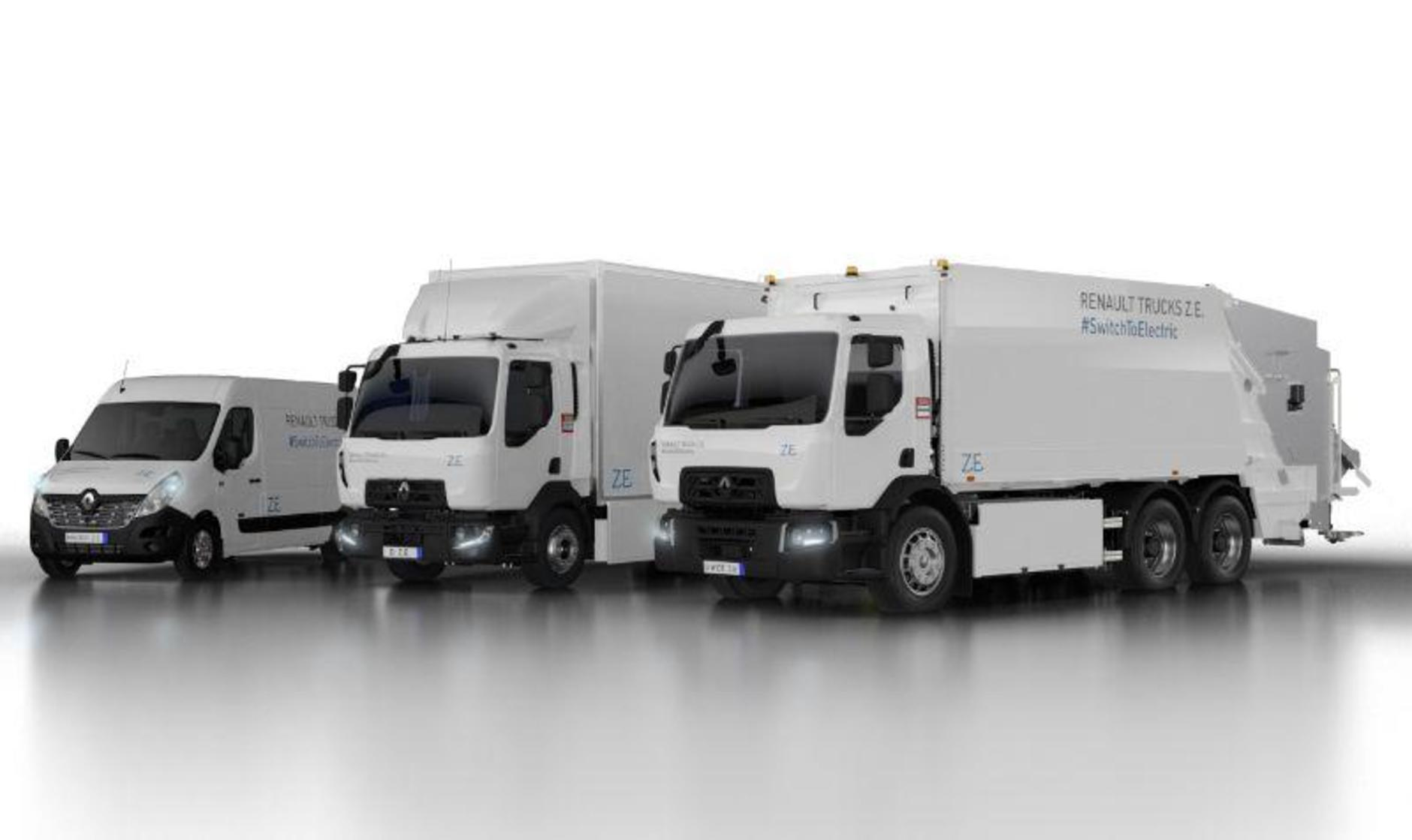 Renault Trucks electric prospects