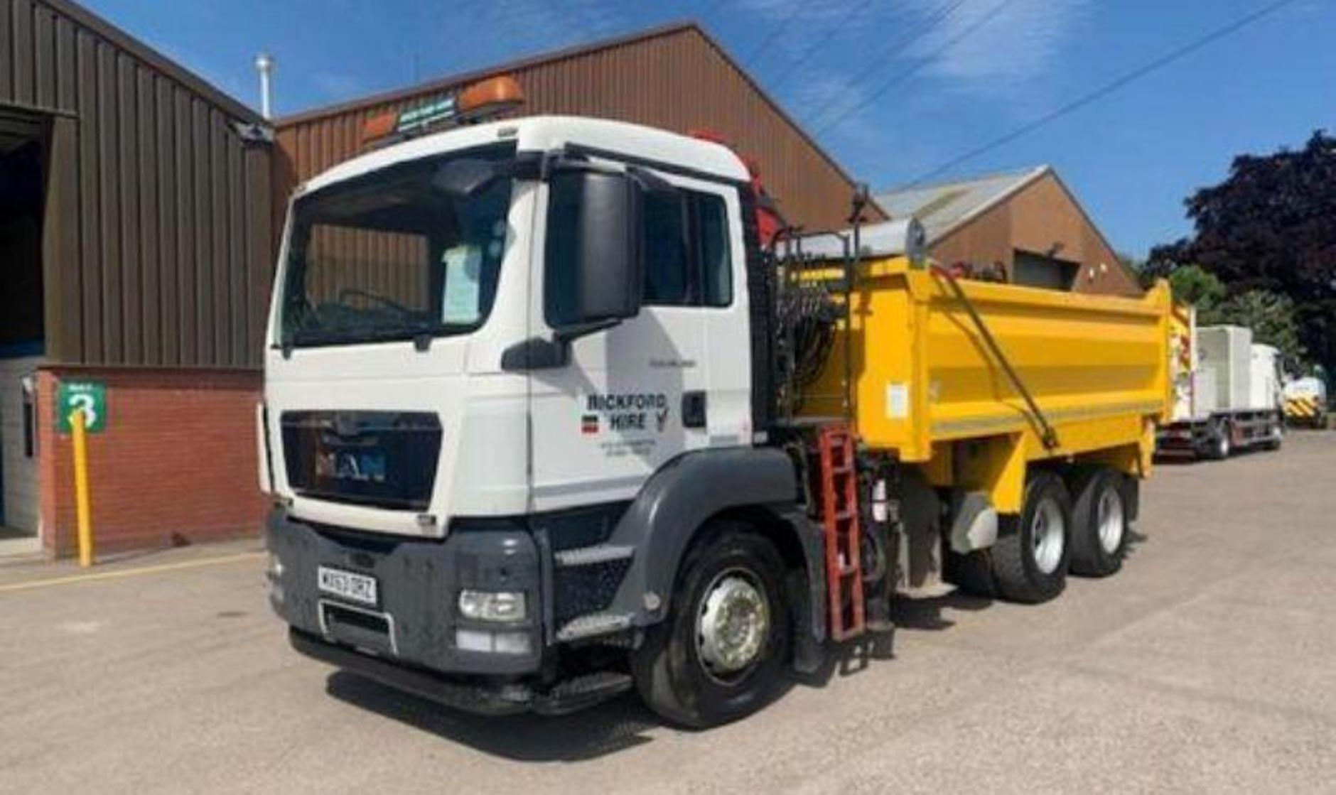 MAN TGX tipper