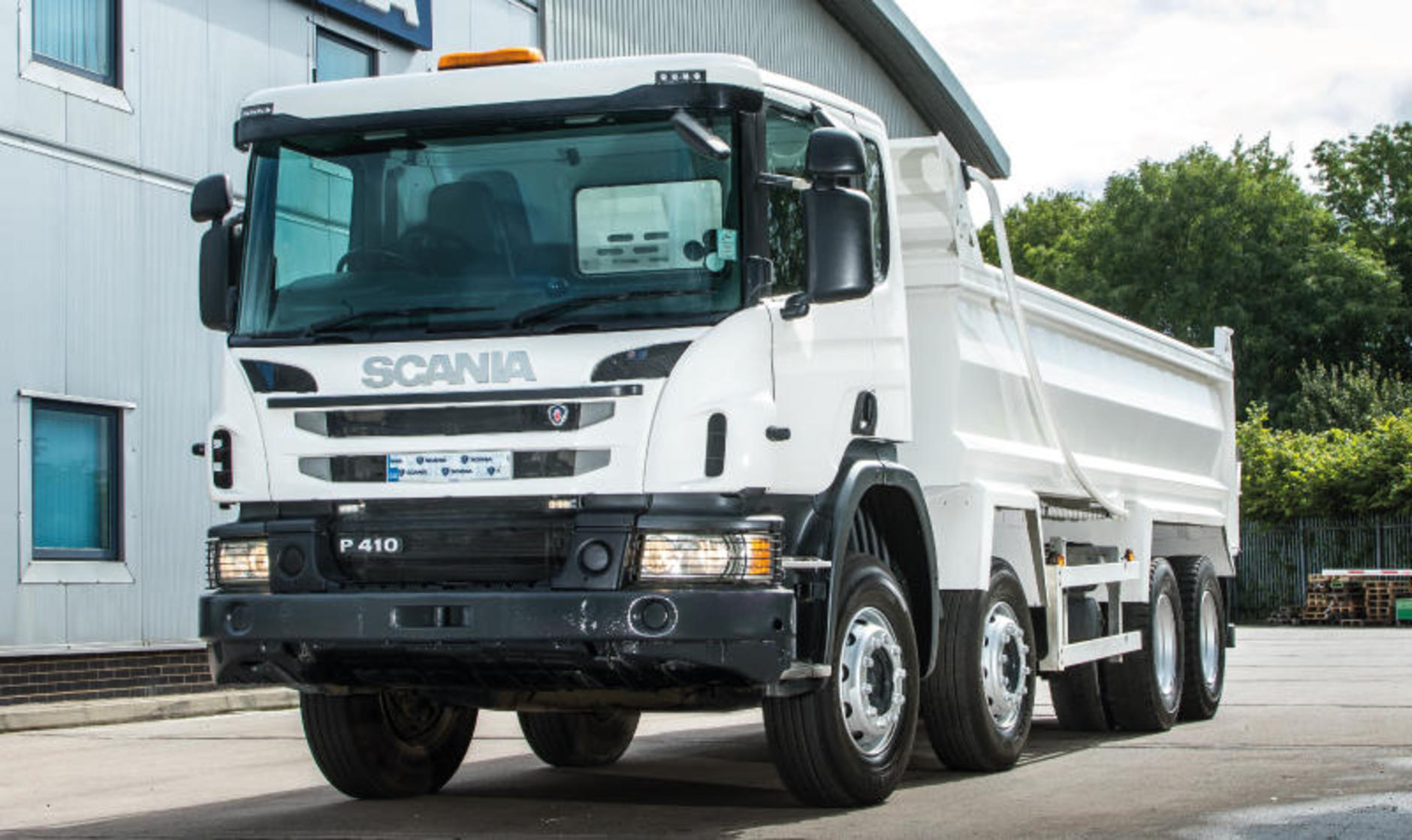scania p series tipper used buying guide