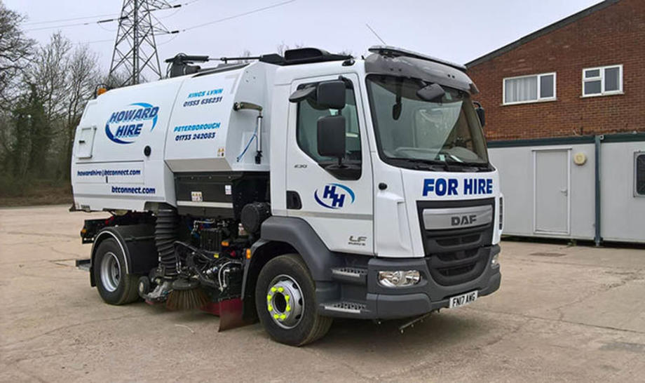 Ford and Slater Daf LF