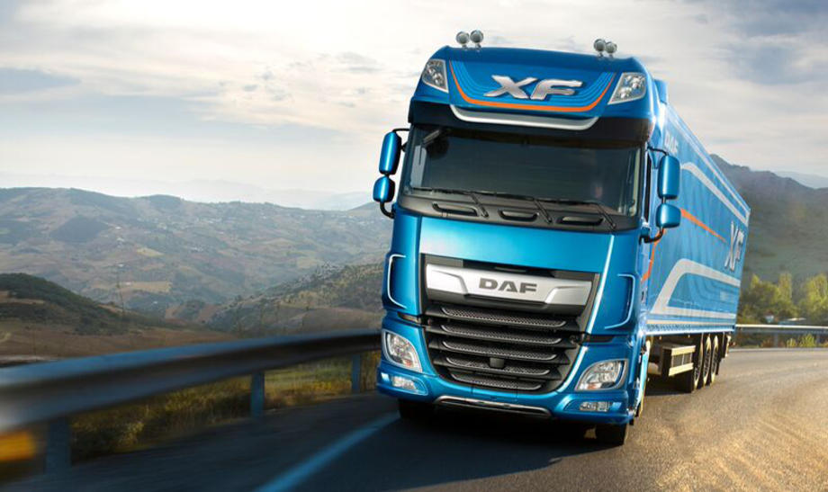DAF is one of the UK platoon trial partners