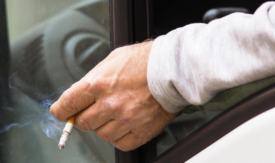 smoking in commercial vehicle