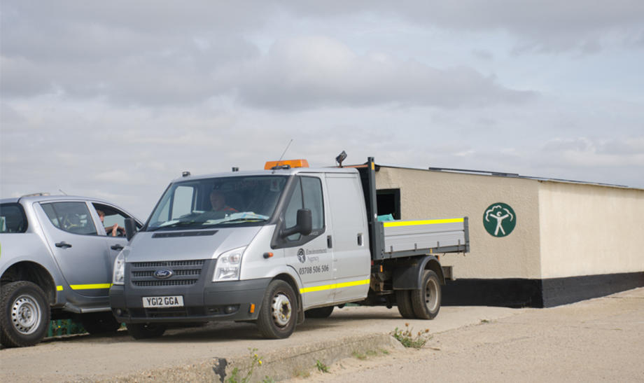 Environment Agency vehicles