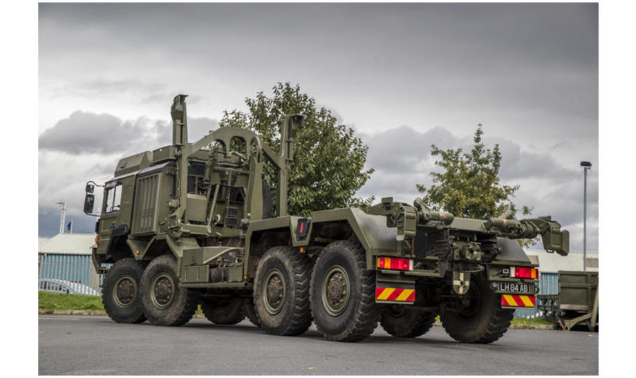 British Army MAN truck
