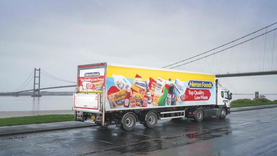 G&A Heron Foods trailers