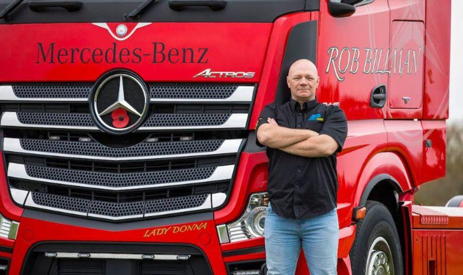 750,000km Actros
