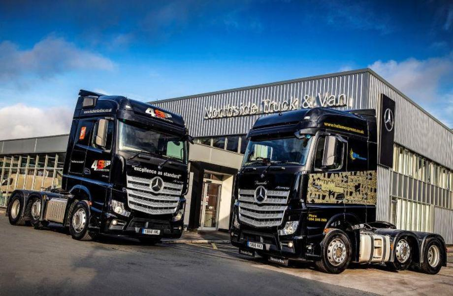 New Actros for companies