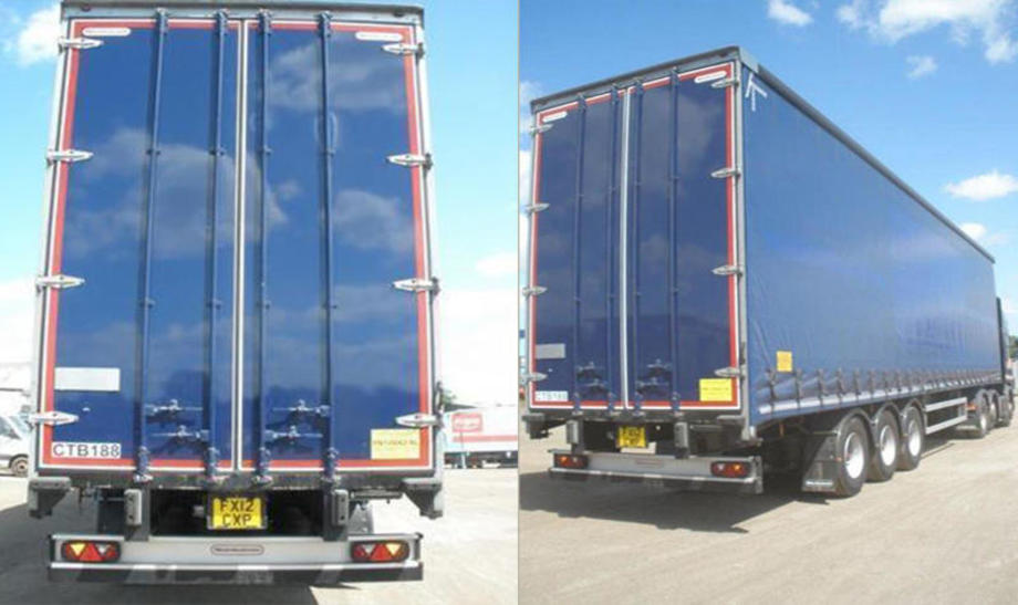 2018 Montracon curtainsiders
