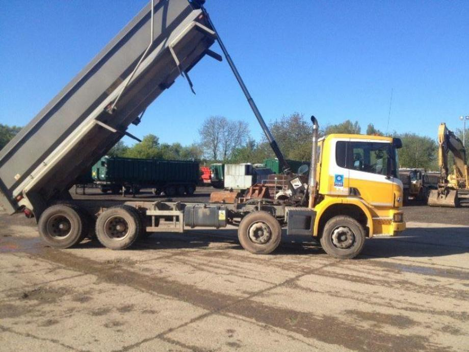 Scania P-Series tippers