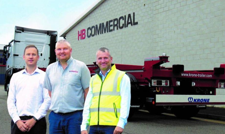 Krone trailers for HB Commercial