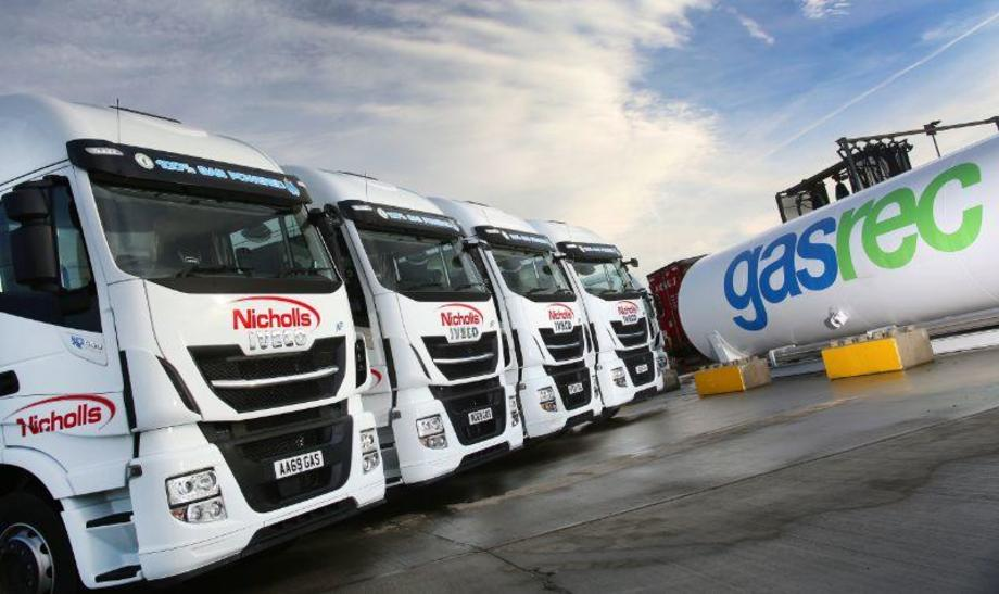 Nicholl Transport's new Stralis and refueling facilities