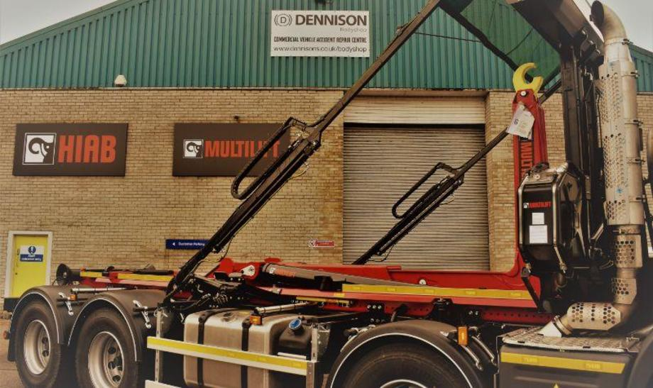 MAW Engineeing now installs Hiab products