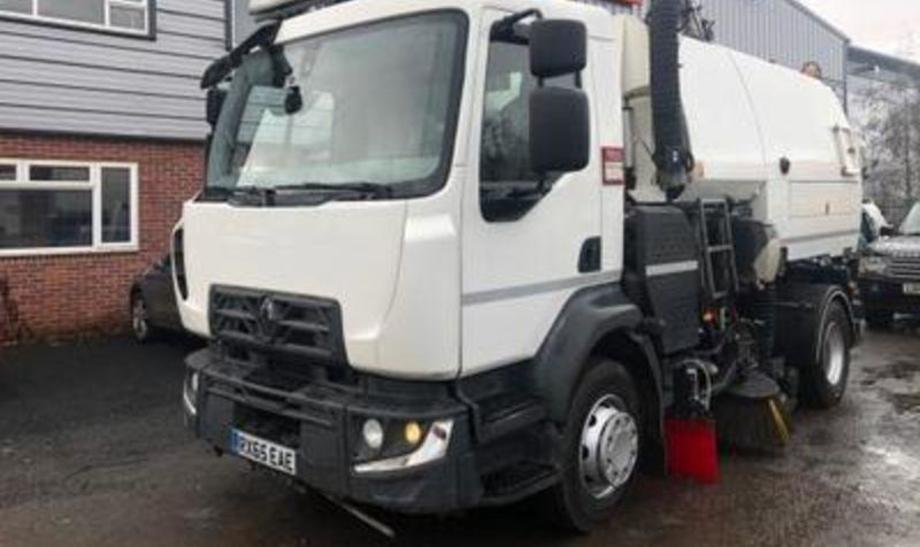 Renault Range D Road Sweeper