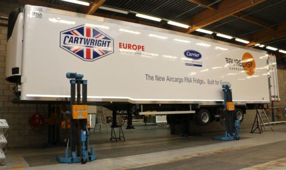 Cartwright's new Air Cargo trailer