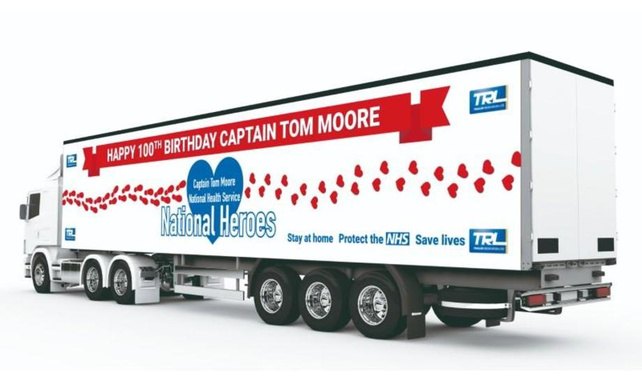 Captain Tom Moore's birthday