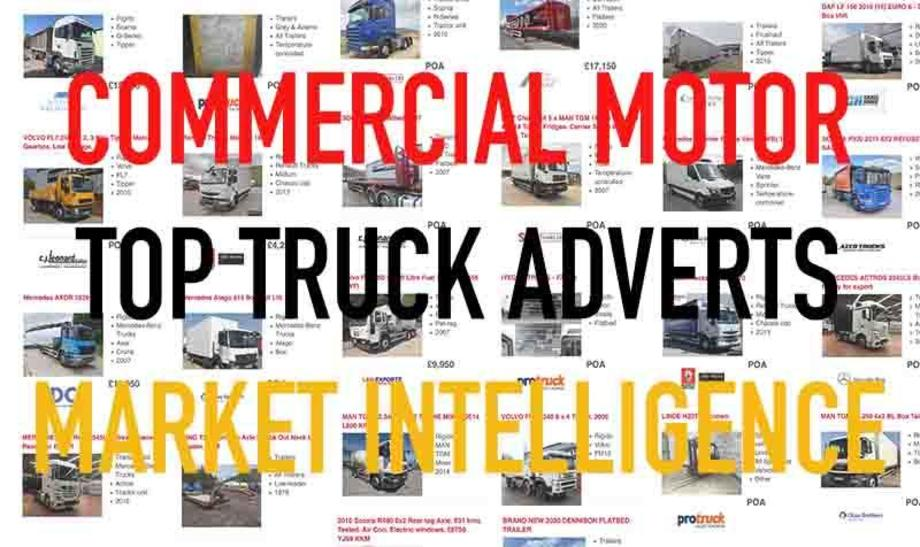 Commercial Motor Used Truck Market Intelligence Top Truck Adverts
