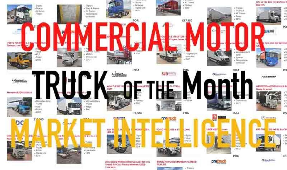 Commercial Motor Used Truck Market Intelligence Truck of the Month