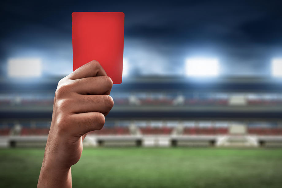 disqualified redcard