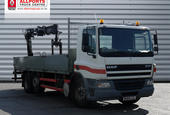 2004 Daf CF75.310 6x2 Dropside body