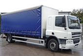2007,07 reg Daf FA CF65.220 Sleeper 26 Foot 1ins Curtain c/w Taillift