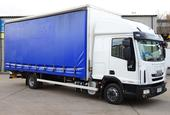 2013,63 reg Iveco EuroCargo 75 E18S Sleeper 20 Foot 8ins Curtain c/w Taillift