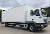 2007,57 reg MAN TGM 18.240 Sleeper 26 Foot 1ins Box c/w Taillift