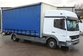 2008,58 reg Mercedes-Benz Atego 818 Sleeper 20 Foot 4ins Curtain