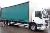 2009,09 reg Daf FAS CF75.310 10 Tyre 29 Foot 1ins Curtain c/w Taillift