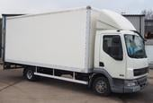 2009,58 reg Daf FA LF45.160 20 Foot 3ins Box c/w Taillift