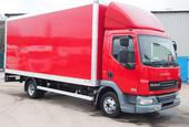 2012,62 reg Daf FA LF45.160 20 Foot Box c/w Taillift