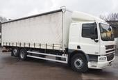 2011,11 reg DAF FAR CF75.310 29 Foot Curtain c/w Taillift