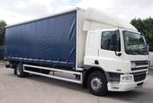 2008,08 reg DAF FA CF65.250 Sleeper 28 Foot Curtain c/w Taillift