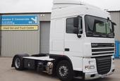 2009,59 reg DAF FT XF105.460 Spacecab 4x2 Low Height Tractor Unit