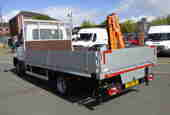 3.5t dropside with crane