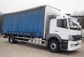 2004 Mercedes-Benz Atego 1823L Sleeper 26 Foot 3ins Curtain c/w Taillift