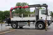 NU64 LWC - MAN 18T 4x4 Dropside with Crane **Euro 6**