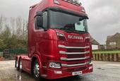 NOW SOLD! SCANIA V8 S580 TWIN WHEEL