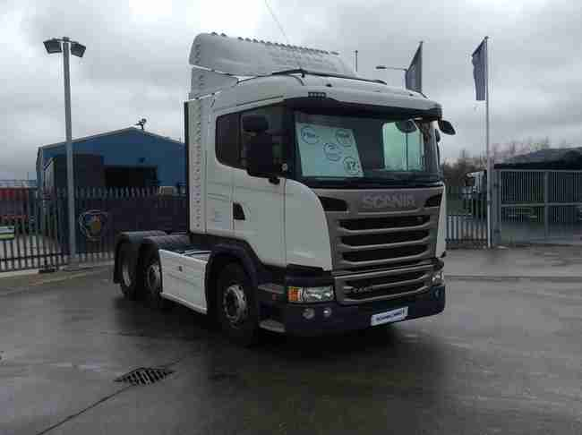 2013 Scania G Series 440HP 6x2/2 Sleeper Cab