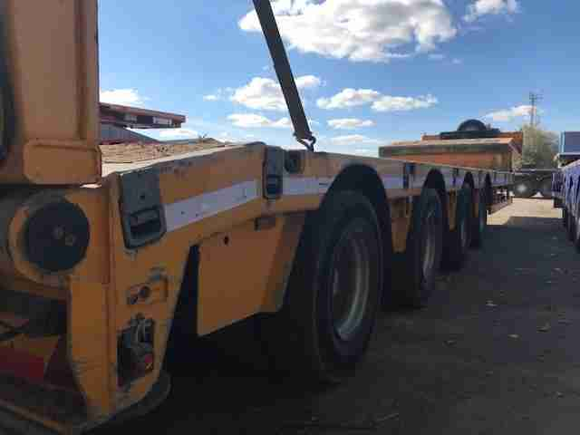 Faymonville Max 4 axle machinery carrier