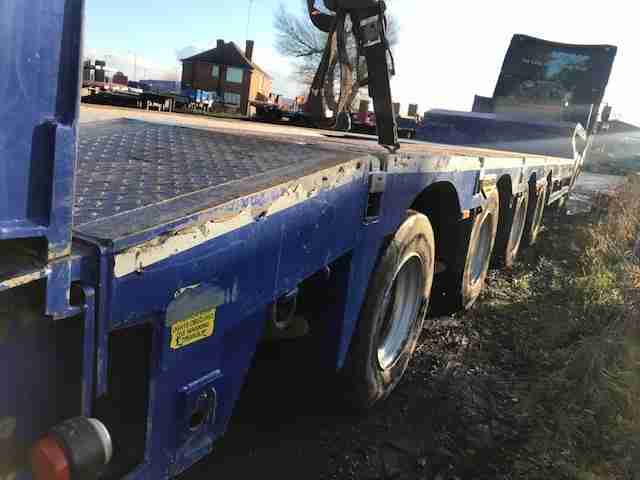 Broshuis 4 axle 9ft wide plant trailer