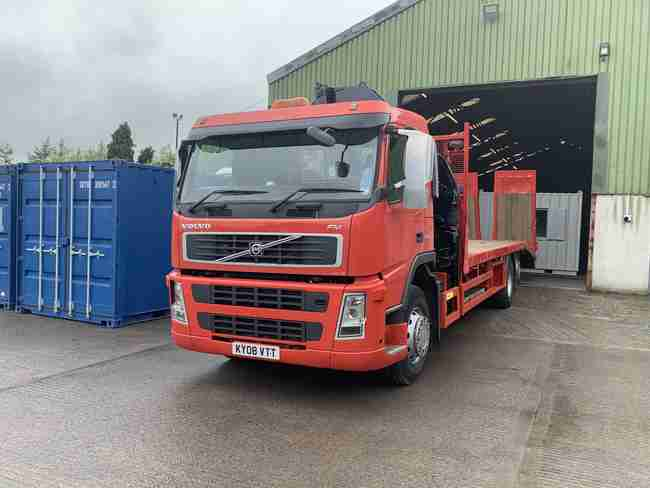 Crane Lorry with Cheese Wedge & Winch