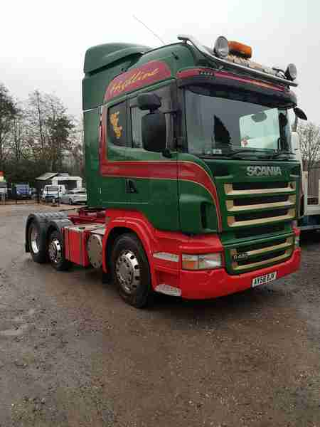 Scania R480 Highline 6x2 (Tipping)