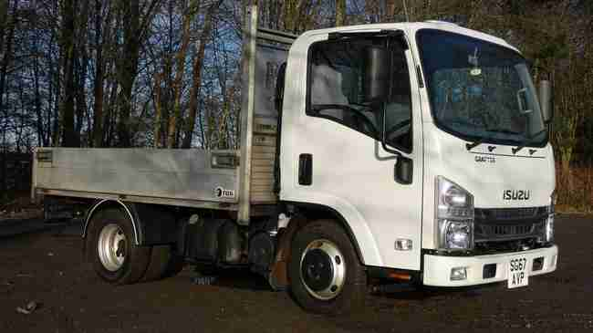 2017 Isuzu Grafter N35.120 3.5t dropside van for sale. Low Miles, Service History, Choice of six!
