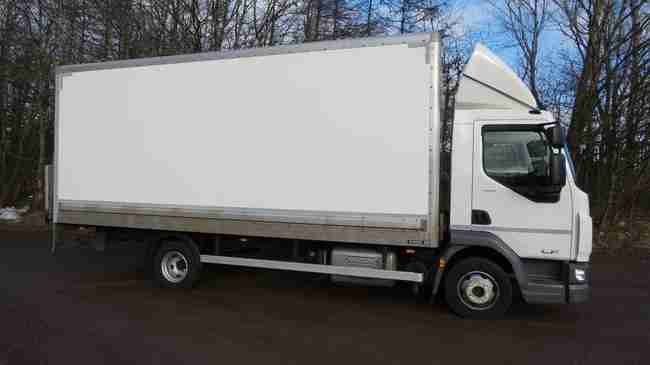 2018 DAF LF 180 Euro 6 7.5 tonne Box Truck For Sale UK, Excellent Condition, Only 75,000Kms, Be Quick!