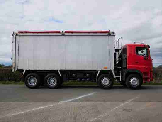Hino FY 700 3241 8 X 4 Bulk Alloy Body Tipper (AU58BB)