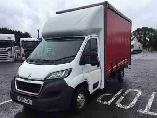 2015 PEUGEOT BOXER 335 HDI 3.5T CURTAINSIDER
