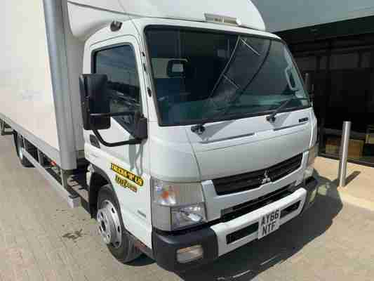2016 '66 MITSUBISHI CANTER 7C18 DUONIC BOX LORRY