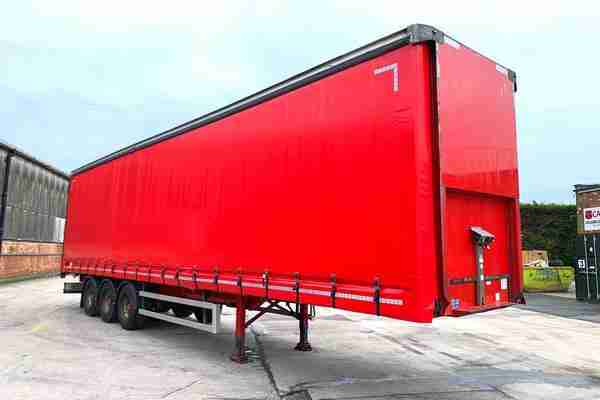 2013 Montracon Curtain Sider – 4.55m