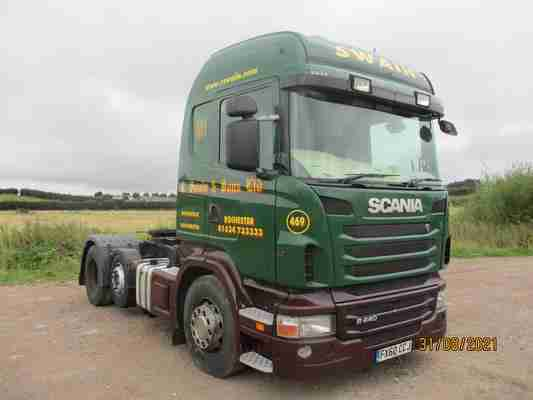 Scania R440 6x2 tractor unit with MANUAL gearbox