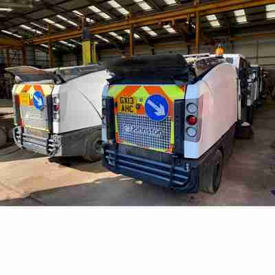 JOHNSTON CX201 COMPACT SWEEPER 2013